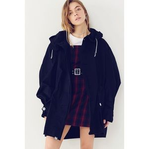 NWT UO Vintage Oversized Parka Jacket/Coat - Navy
